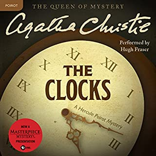 The Clocks audiobook cover art