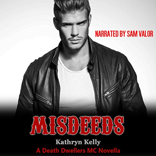 Misdeeds audiobook cover art