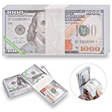 Ancestor Money,Mislove 320 Pcs Joss Paper Heaven Bank Notes Hell Bank Notes-10000 U.S. Dollar Ghost Money for Tomb-Sweeping Day,Funeral,Strengthen Connection with Your Ancestors,Bring Good Luck Wealth