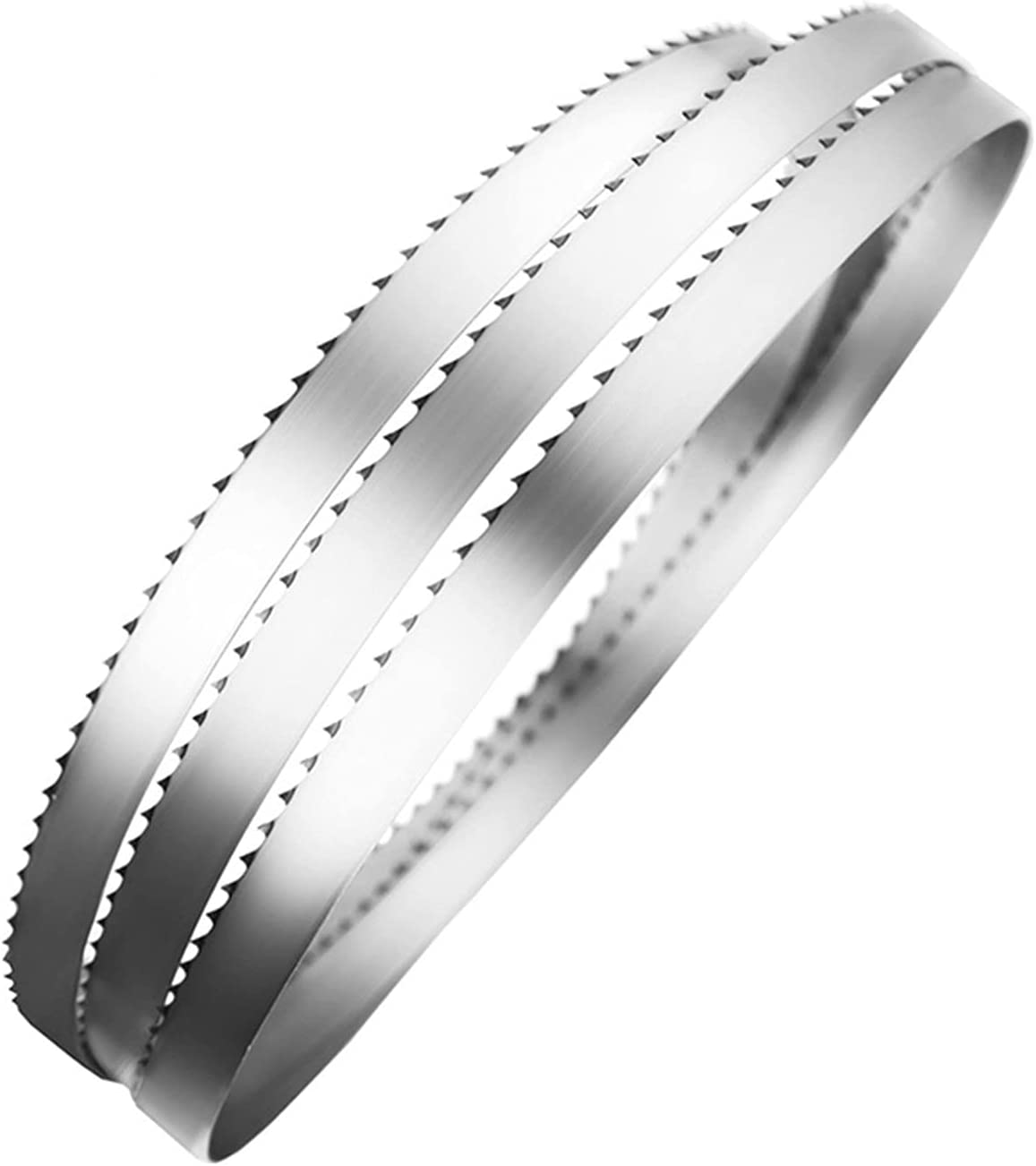 ADUCI 2 Pieces 2085160.55mm4 Teeth Meat Band Saw Blades 2085mm16