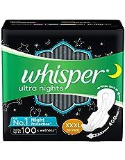 Whisper Ultra Night Sanitary Pads for Women