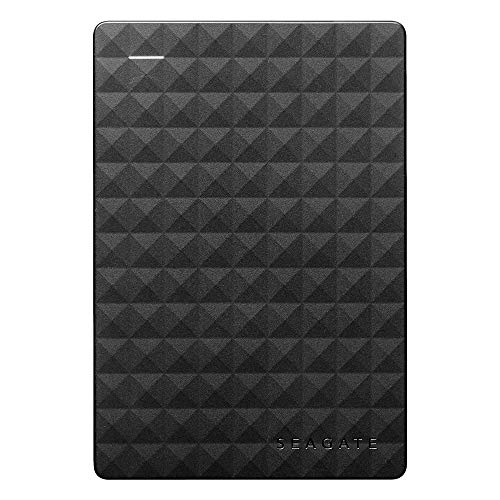 Seagate Expansion Portable, Unità Disco Esterna Portatile, USB 3.0 per PC Desktop, PC Portatili e Mac (STEA4000400), 4 TB, Nero
