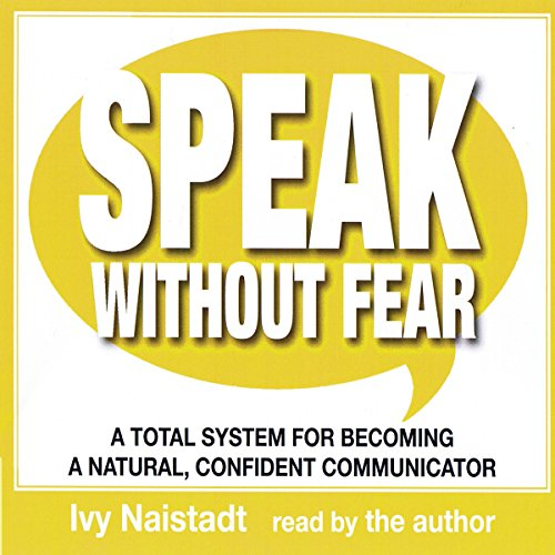 Speak Without Fear audiobook cover art