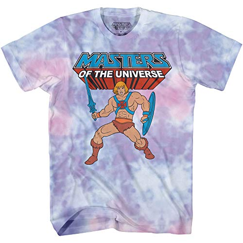 Masters of the Universe He Man Tie Dye T-shirt, S to XL