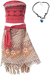 Moana Special Occasion A Line Dress For Girls