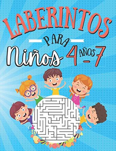 Laberintos Para Niños 4-7 Años: 100 Laberintos Niños de con Soluciones  ...