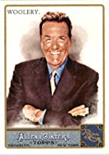 2011 Topps Allen and Ginter Baseball Card #223 Chuck Woolery - Game Show Host - MLB Trading Card