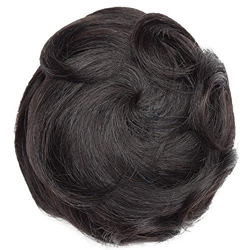 Włosy Scrunchies Buns Updo [#1 Jet Black] Kok Kokręcone (30 g)