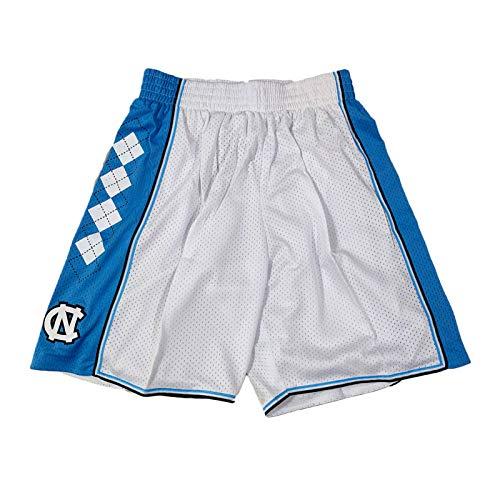 Jordan North Carolina - Pantalones cortos para hombre, diseño de baloncesto de malla para jóvenes, talla M