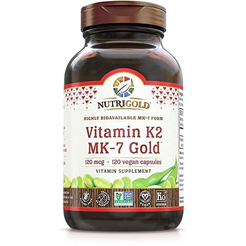 Nutrigold Vitamin K2 MK7 Supplement…