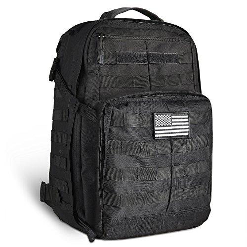 CVLIFE 45L Multifunctional Tactical Backpack Outdoor Military Rucksacks Large Camping Hiking Pack