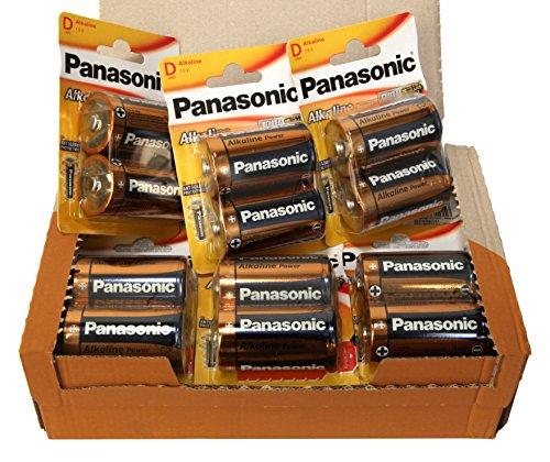 Panasonic POWER LR20 D - Pack de 24 pilas alcalinas