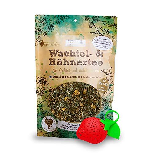 WachtelGold Wachtel Tee-Kräuterzauber 40g Kräutertee mit wertvollen Kräutern
