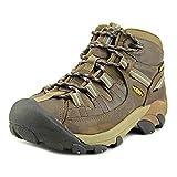 KEEN Women's Targhee 2 Mid Height Waterproof Hiking Boot, Slate Black/Flint Stone, 9 M (Medium) US