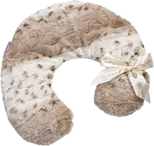 Sonoma Lavender Luxury Lavender Neck Pillow, Microwaveable Heating Pad for Neck and Shoulders, Great for Relaxation and Pain Relief, Arctic Circle