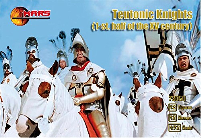 1 72 1st Half XV Century Teutonic Knights (12 Mtd)