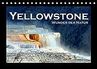 Yellowstone - Wunder der Natur (Tischkalender 2022 DIN A5 quer): Faszinierende Bilder aus dem aeltesten Nationalpark der Welt (Monatskalender, 14 Seiten )