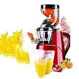 ALUCE Compact Cold Press Juice, licuadoras con Motor silencioso función para Verduras y Frutas Boca Ancha Extractor de...
