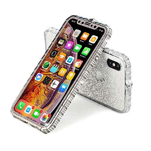 Iphoneケース キラキラ ラインストーン アイフォンケース ピンクゴールド シルバー iPhoneケース おしゃれ 可愛い 女性人気 アルミ バンパー iPhoneX iPhoneXS iPhoneXR iPhone11 iPhone11pro iPh