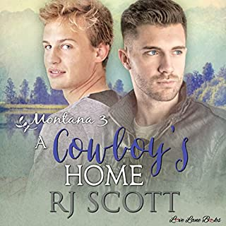 A Cowboy's Home     Montana Series, Book 3              By:                                                                                                                                 RJ Scott                               Narrated by:                                                                                                                                 Sean Crisden                      Length: 7 hrs and 3 mins     20 ratings     Overall 4.2