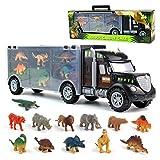 Dinosaurio del Juguete Camión de Transporte Transportador C