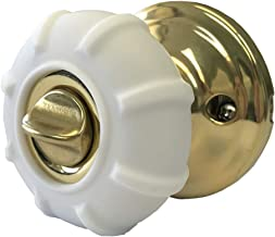 New Enjoy Cover - Door Knob Cover Grips Non Slip Arthritis & Senior Living Aids Grippy Easy Open Decorative. Simple Functional Effective Solution- 4 Pack (White, Cove)