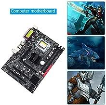 JIAIIO P45 PC Computer Motherboard for LGA 771 Quad Core Dual Double Channel DDR3 Desktop Memory Mainboard for Intel Xeon P45 SATA2.0