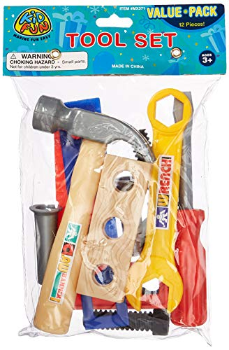 US Toy Tool Set Playset (12 Piece)
