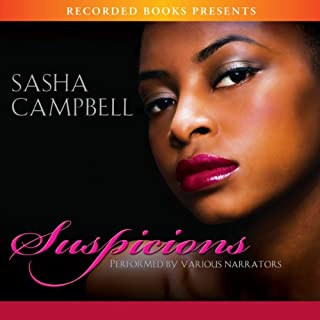 Suspicions audiobook cover art