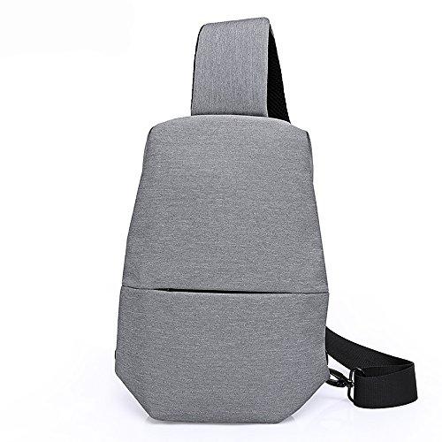 Sunday Hommes Mode Simple Style Casual Léger Cross Body Bag Sling Bag Poitrine Sac à dos Vélo Voyage
