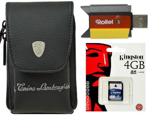 Cámara de Fotos Funda Plus 4GB SD Tarjeta Plus Card Reader para...