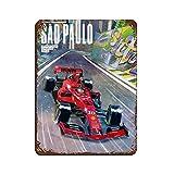 Formel-1-Renn-Poster Retro F1 Auto HD Poster 29 Blechschild