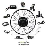 EBIKELING 48V 1500W 700C Direct Drive Waterproof Electric Bike Kit - Ebike Conversion Kit - Electric Bike Conversion Kit (Rear/LCD/Twist)