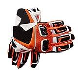 Warm your hands &World Gants de Cyclisme Orange Gants de Fibre de Carbone Gants de Ski de Fond Gants de...