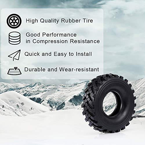 Goolsky 2,2 Zoll 127mm Rock Crawler Reifen 1/10 RC Rock Crawler Reifen für 1:10 Rock Axial Wraith RR10 TRX-4 RC Rock Crawler Jeep Truck 4St