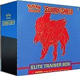 Pokemon TCG: Sword & Shield Elite Trainer Box - Zamazenta | Genuine Cards, Multicolor