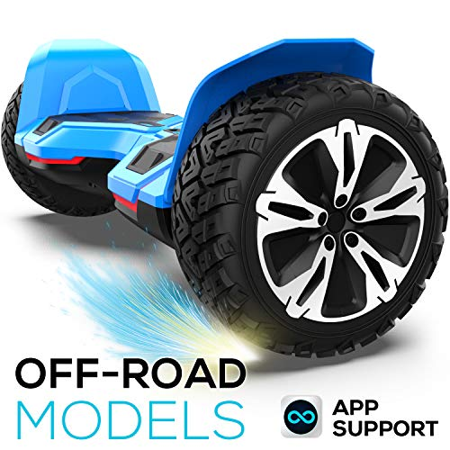 Hoverboard Off Road All Terrain Warrior Hoverboards with 8.5 inch Tires,...