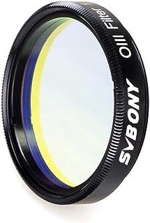 SVBONY SV115 Telescope Filter O-III Filter Narrowband Cuts Light Pollution Filter for Astronomy Telescope (1.25 inch)