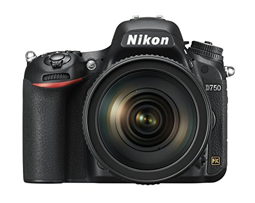 powerful Nikon D750 FX Format D-SLR, NIKKOR 24-120mm 1: 4G ED VR lens with autofocus S