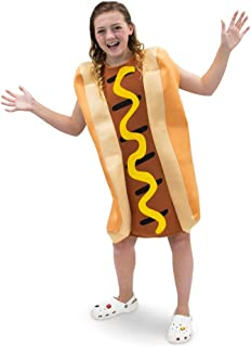 Ballpark Frank Hot Dog Children's Food Halloween Costume, Dress Up Party Cosplay