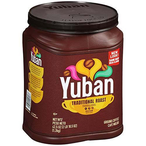 Yuban Ground Coffee Traditional Medium Roast, 42.5 Ounce