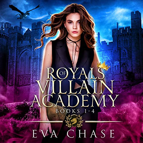 Royals of Villain Academy: Books 1 - 4 cover art