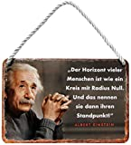 """Blechschilder Lustiger Albert Einstein Spruch """"Der"""