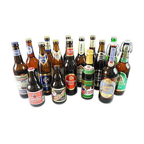 Deutsche Biere im 16er Set (16 Flaschen / 6,0% vol.)