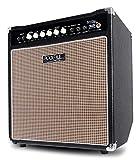 Rocktile BA-50 Lemmy Basscombo (50 Watt, Kickback-Gehäuse, 12' Speaker, mit Effektschleife und Limiter) schwarz