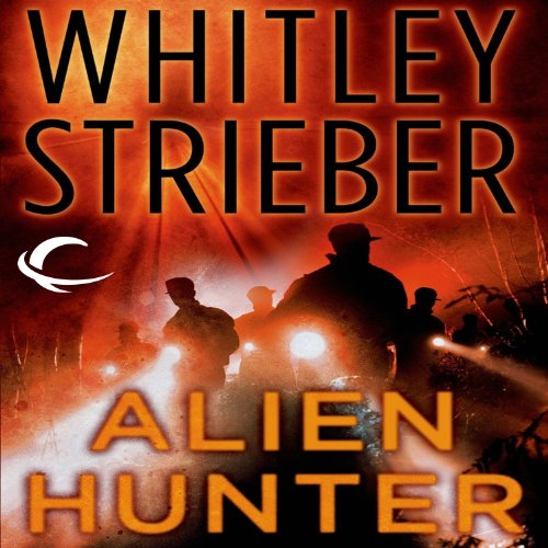 Alien Hunter audiobook cover art