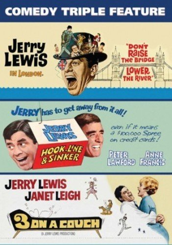 JERRY LEWIS TRIPLE FEATURE - JERRY LEWIS TRIPLE FEATURE (1 DVD)