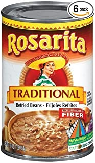 Rosarita Refried Beans, 6 /16-Ounce Cans