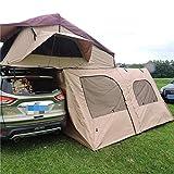 XTBB Autodachzelt für Auto, Outdoor, Camping, Seitenmarkise, einfach zu installieren 4-8people
