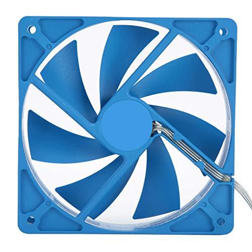 Zunate Ventilador de enfriamiento para PC, Ventilador de enfriamiento para computadora de Escritorio ultradelgado F120, Ventilador de enfriamiento de Alta Potencia, 1200 RPM - 120 x 120 mm